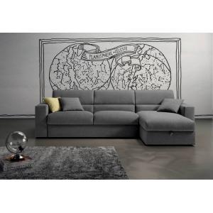 Canapea cu sezlong extensibila Chillax